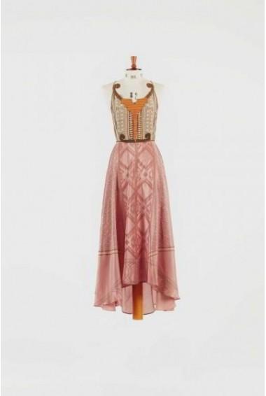 Vestido Volantis